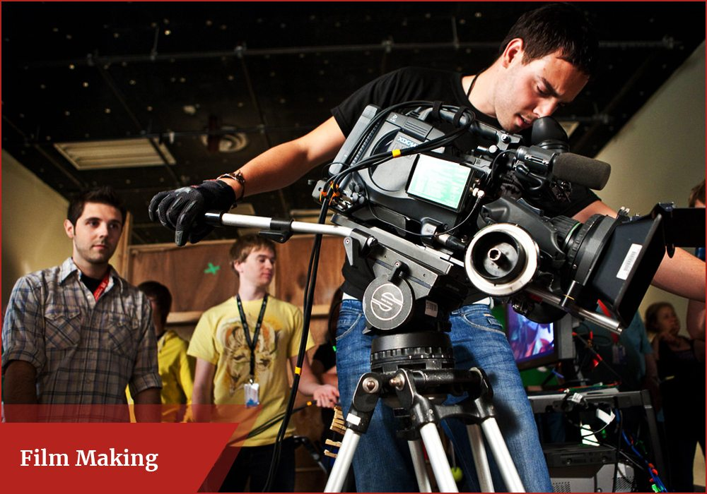 Film Making - scope, careers, colleges, skills, jobs, salary